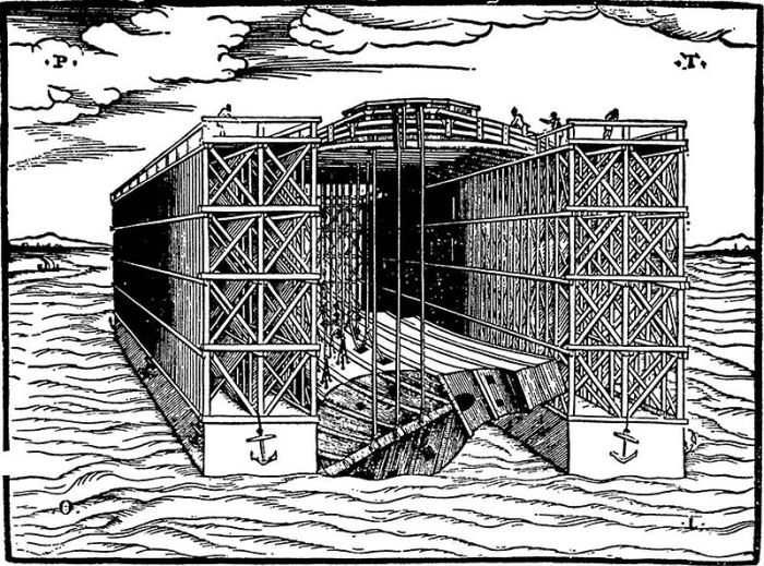 800px-Floating_Dock._Woodcut_included_in_the_'Descrittione'_of_Venice_1560