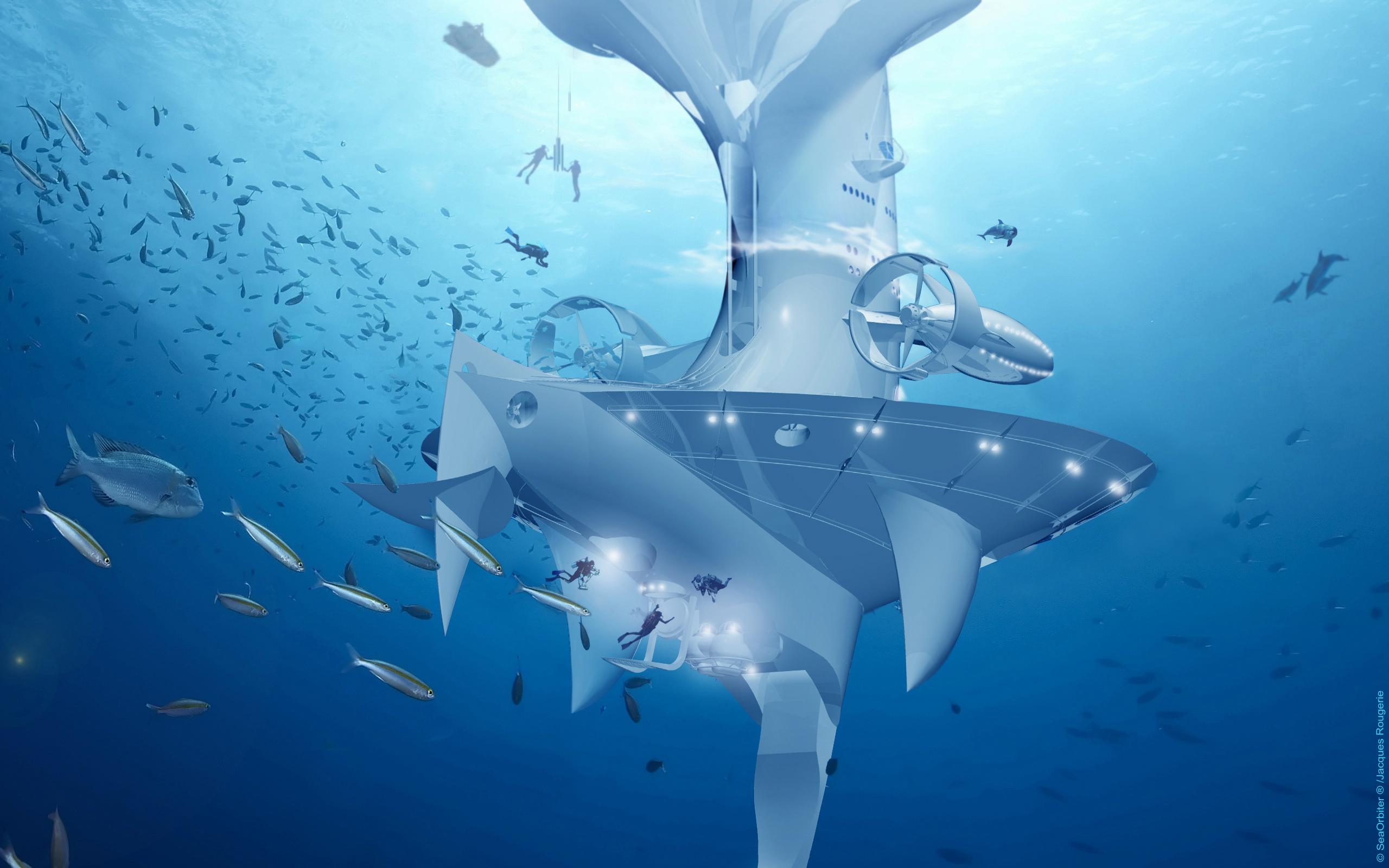 Nave especial para explorar los fondos submarinos. Carthago Servicios Técnicos.