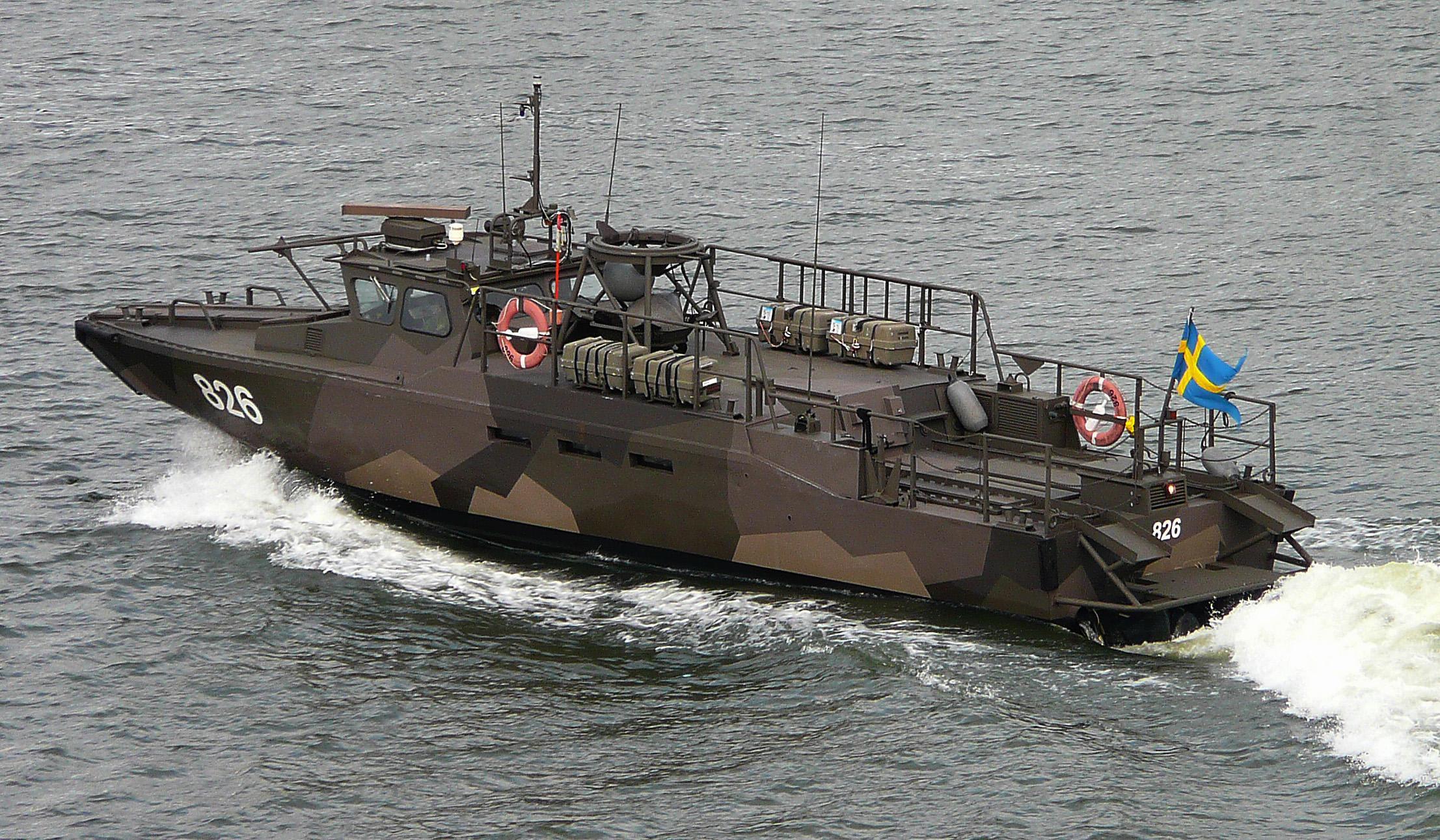 Buques de asalto ultra-rápidos. El Combat Boat 90.