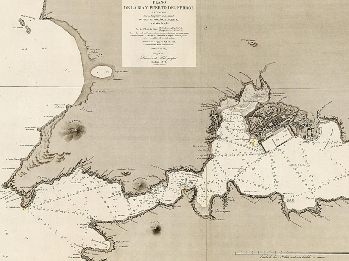FERROL LA MALATA 1787