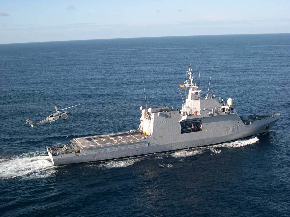 Los buques de acci n mar tima de la armada espa ola va for Arquitectura naval e ingenieria maritima