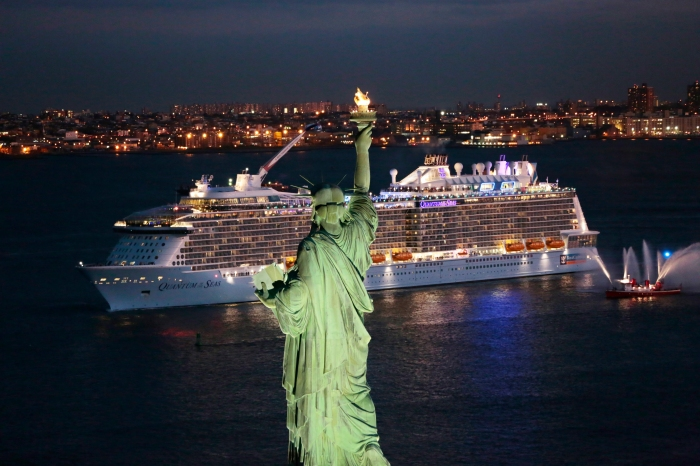 Quantum of the Seas in New York