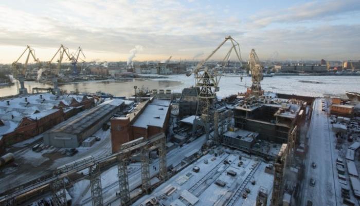 Imagen de los astilleros Baltic en San Petesburgo