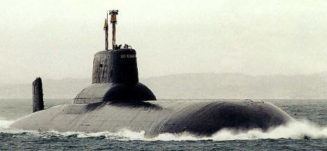 Submarino ruso clase Typhoon