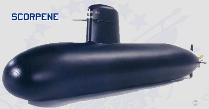 Submarino Scorpene (DCNS)