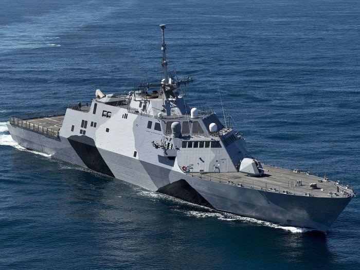 LCS americano USS Freedom ; imagen con licencia CC, obtenida aquí