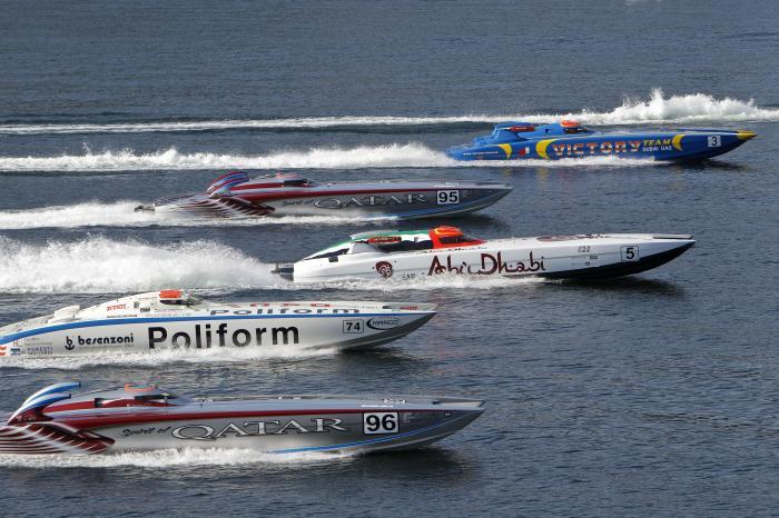 Class 1 World Powerboats Championship 2011 Photo Simon Palfrader©
