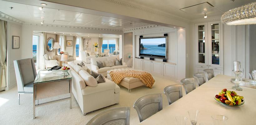 Ms the world el crucero de los millonarios va de barcos for The world cruise ship interior