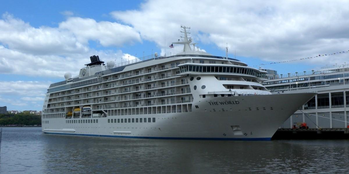 MS The World, el crucero de los millonarios.