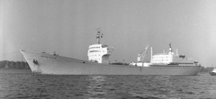 """Atomschiff """"Otto Hahn"""" im Hamburger Hafen"""