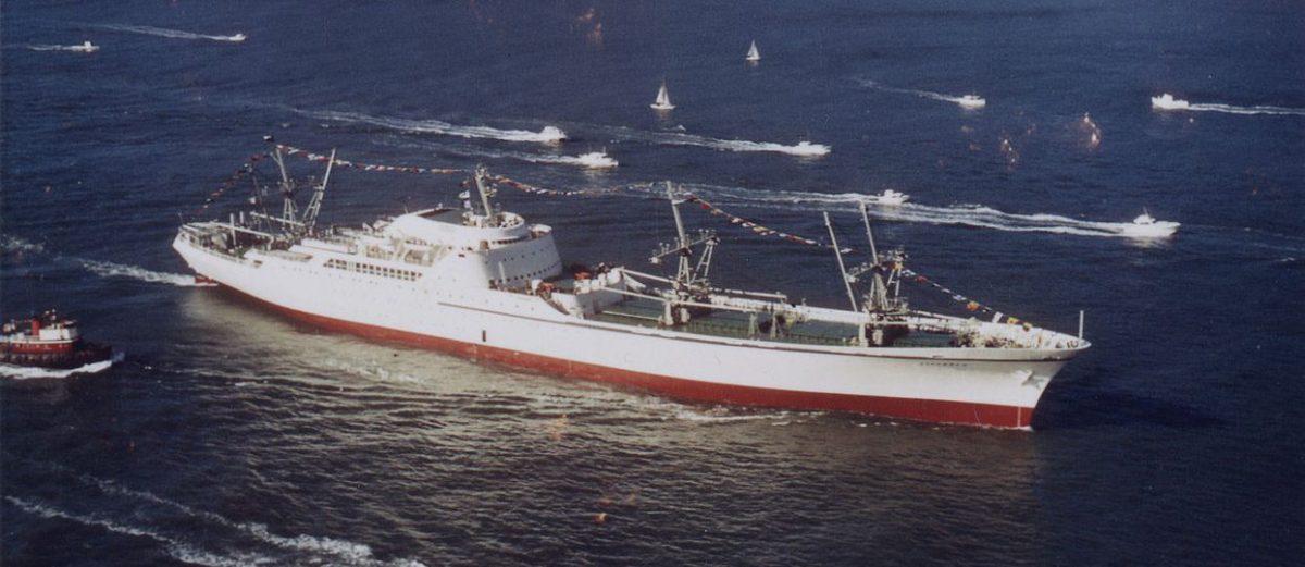 NS Savannah: el carguero nuclear de los Estados Unidos.