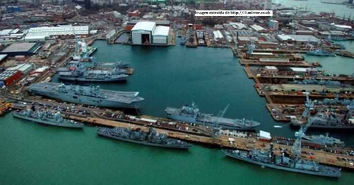Imagen base naval porstmouth