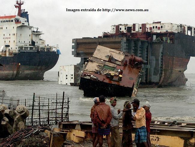 Desguace de buques en Chittagong