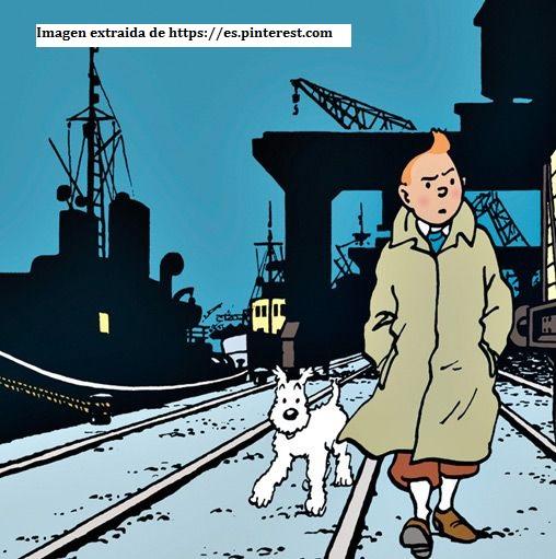 Tintin y su perro Milu