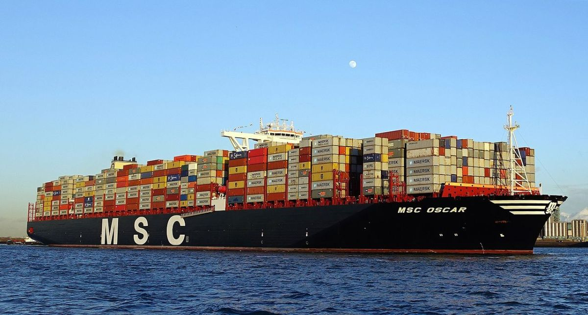 7 de los buques más grandes del mundo.