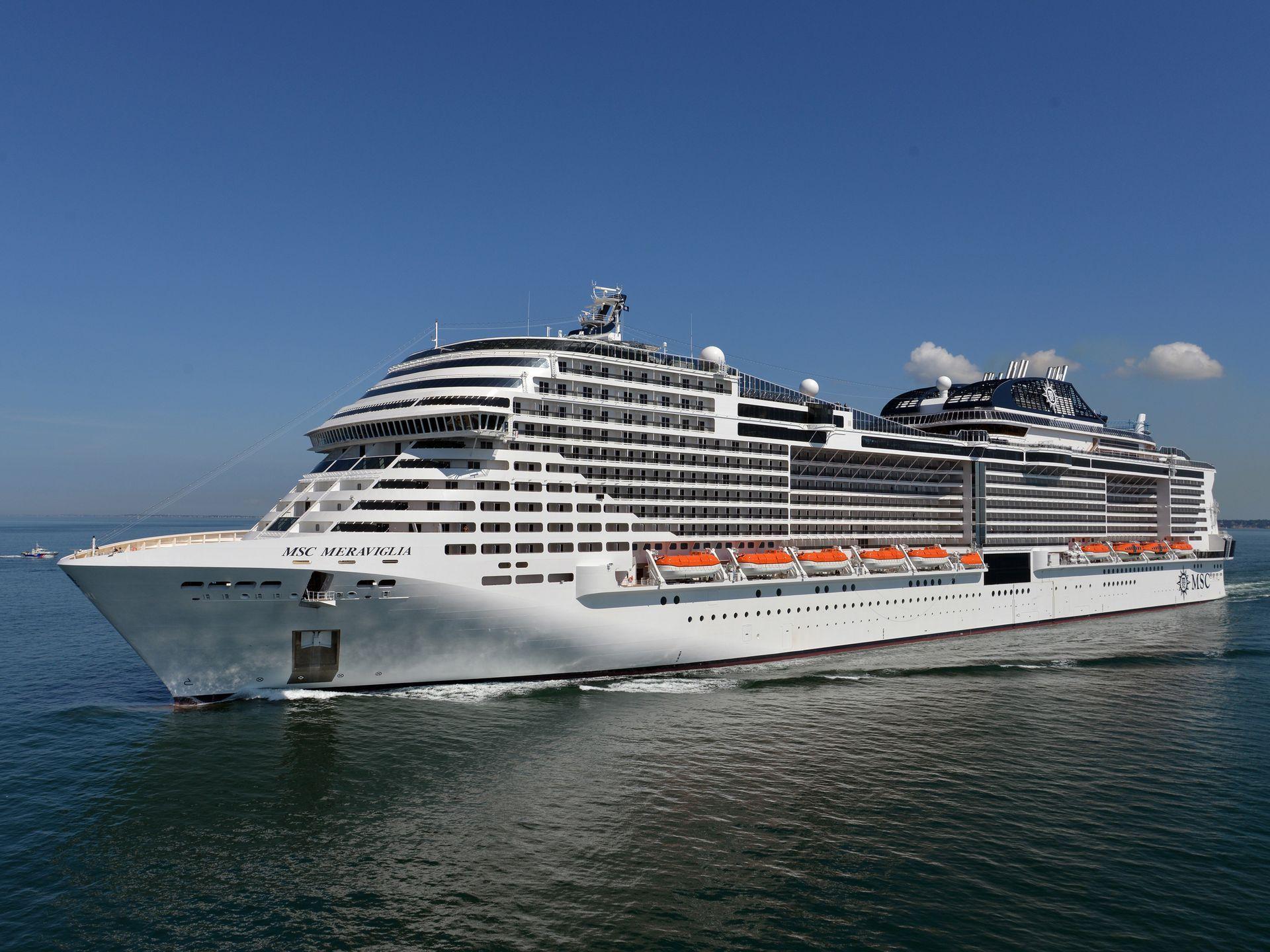 World S Largest Cruise Ship Msc Meraviglia El Nuevo Buque De Msc Cruises Va De Barcos