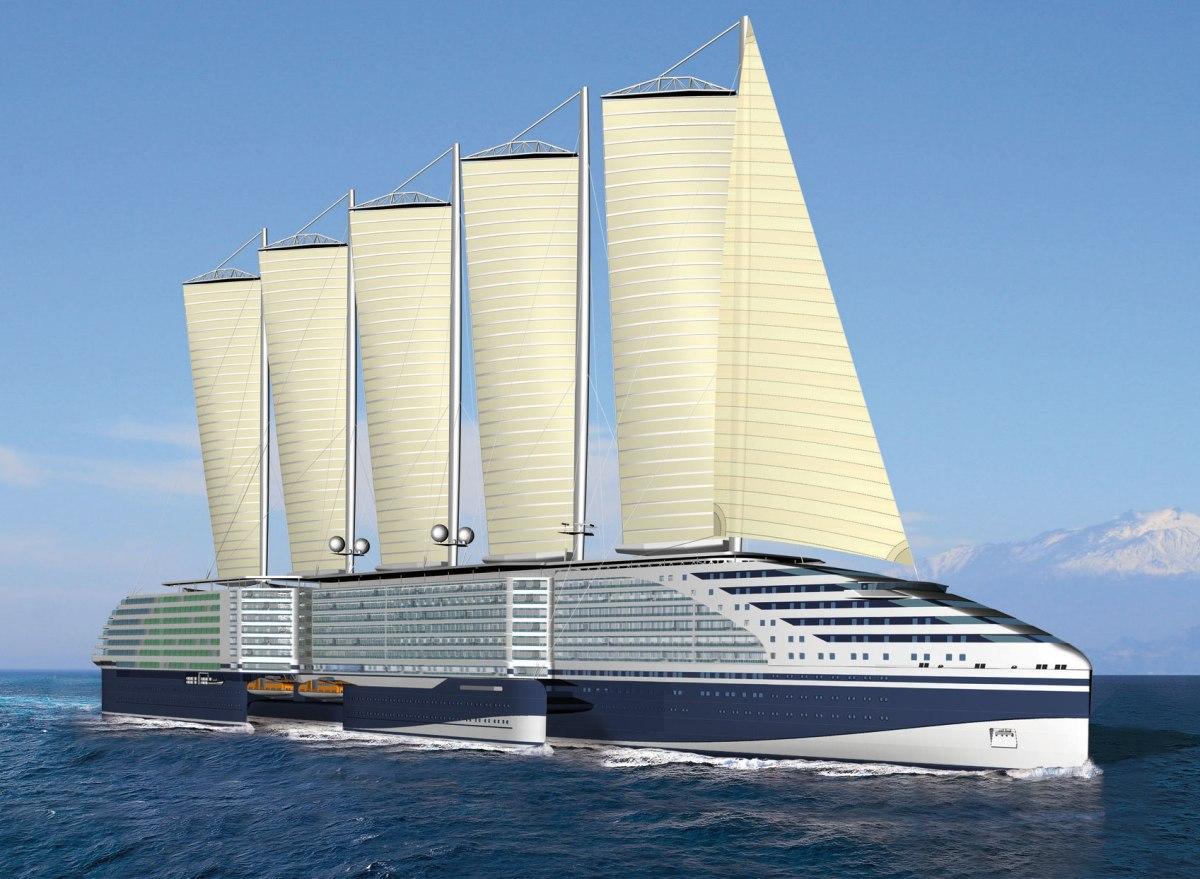 7 buques que nos muestran el futuro del transporte marítimo