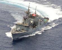 Fragata Halifax en navegación imagen extraída de http://www.jproc.ca