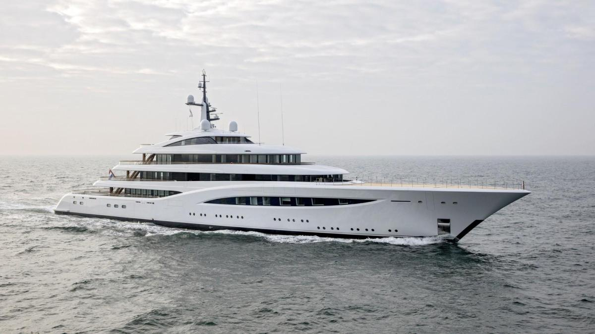 El superyate Faith se corona como yate del año en los World Superyacht Awards